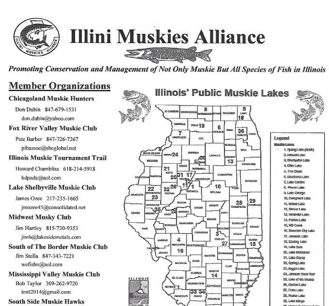 Illini Muskies Alliance Info